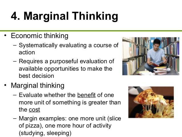 Image result for marginal thinking