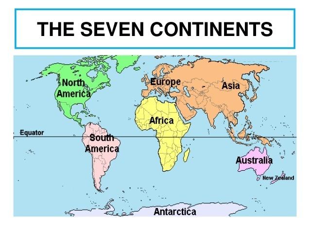 Pitong kontinente sa asian