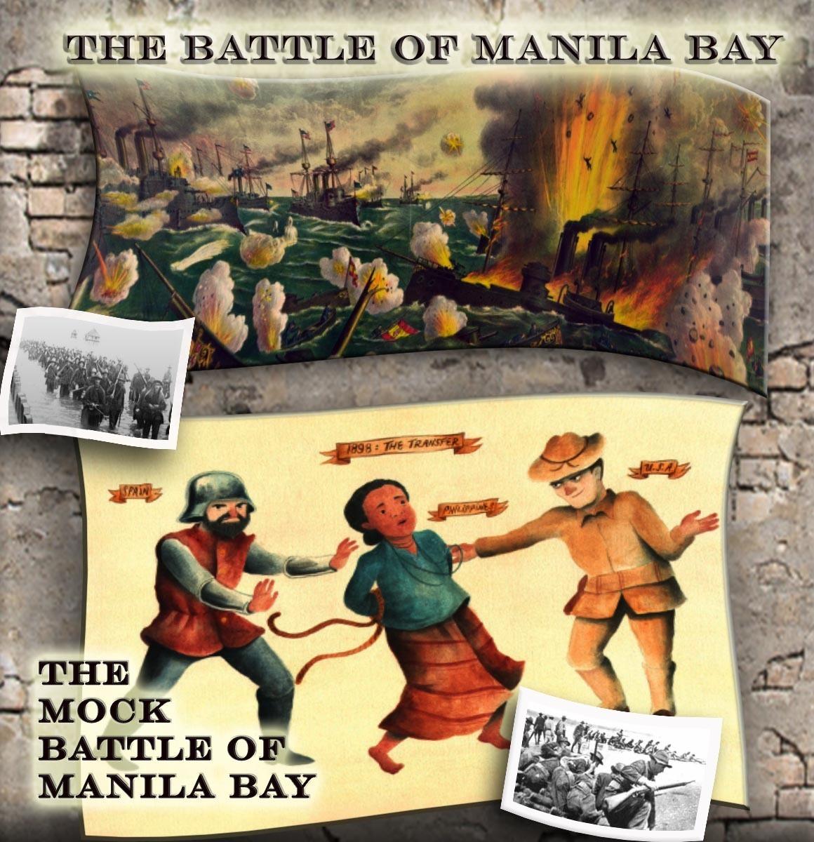 mock battle of manila