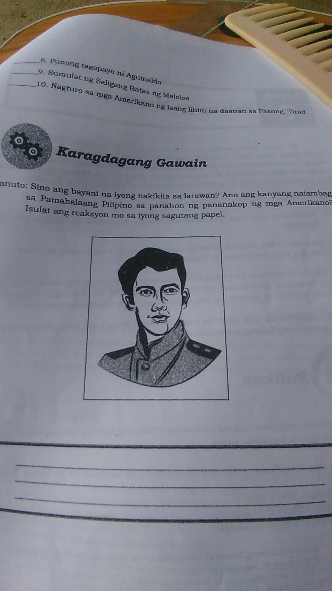 Sino ang Bayani na iyong nakikita sa larawan?Ano ang ...