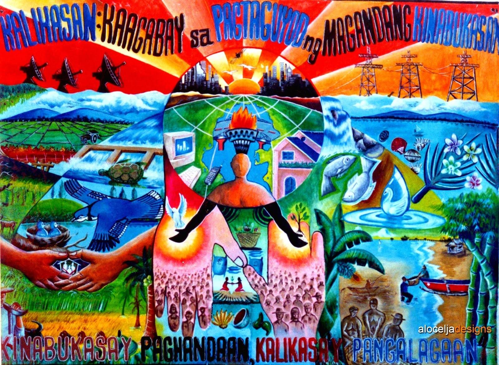 30+ Ide Simple Poster Slogan Tungkol Sa Kalikasan - Miss B ...